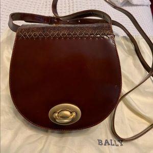 EUC.  Fabulous vintage Bally crossbody bag